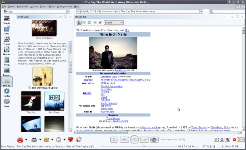 Jajuk screenshot